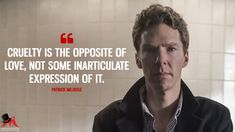 Patrick Melrose: I wasn't sure about this story of a drug addict's life at first. But then I became addicted to the series. Sherlock Bbc, Benedict Sherlock, Martin Freeman, Tv Show Quotes, Book Quotes, Young Benedict Cumberbatch, Culture Quotes, Alan Turing, Marvel Quotes