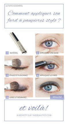 techniques maquillage by clementescrea on pinterest eyeliner nyx and comment. Black Bedroom Furniture Sets. Home Design Ideas