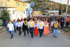 Sergio López trabaja en favor de las comunidades indígenas de Oaxaca.