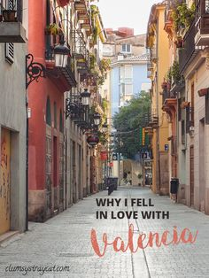 Why live abroad in Valencia? - Clumsy Stray Cat