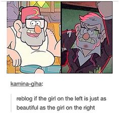 You are a beautiful grunkle