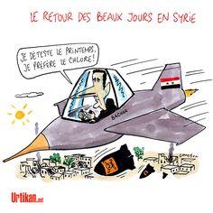 Syrie : Bachar al-Assad n'est toujours pas tombé - Dessin du jour - Urtikan.net