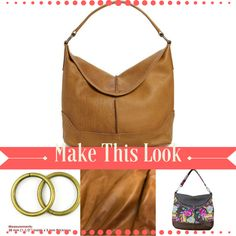 821a8925bf77 Emmaline Bags  Sewing Patterns and Purse Supplies  Handmade Couture  Make  this look - A Leather Frye Cara Hobo Bag