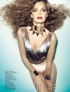 gertrud hegelund by henrique gendre for vogue brazil september 2012, curls