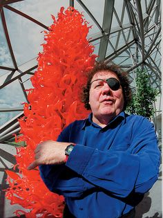 Dale Chihuly Glass art. Of course the reigning monarch of modern glass. He has one manned the scene for many years. He is a design genius but don't forget the artisans. The series of putti were really the most amazing blowing I have seen. Viva Murano.