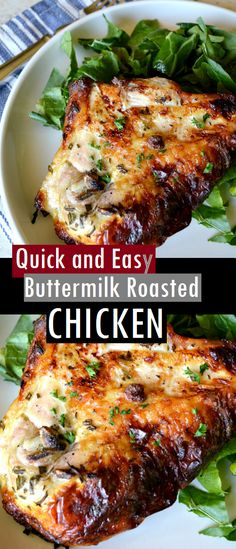 Quick and Easy Buttermilk Roasted Chicken