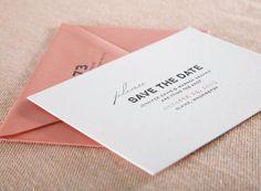 letterpress wedding invitations by Alee & Press: vintage