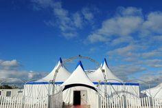 Cirque Imagine_Vue des 3 chapiteaux