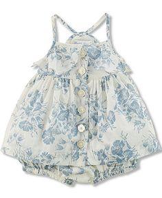 Ralph Lauren Baby Girls' 2-Piece Floral Top & Bloomer Set