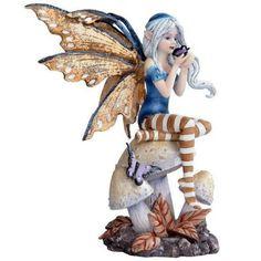 Butterfly Kisses Fairy Figurine