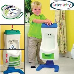 The Peter Potty! Pres was fully potty trained at 2 yrs and 3 months- no diapers at night by 2 1/2. I <3 the Peter Potty.