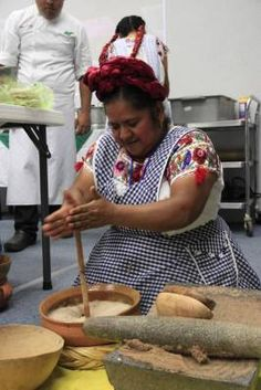 Abigail Mendoza. Cocinera Mexicana.