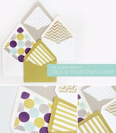 Simply Crafty: The Envelope Collection | Damask Love Blog-Decorate your envelopes