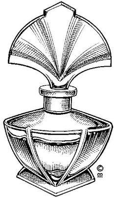 img/dessins-cliparts objets outils machines/flacon-parfum.jpg