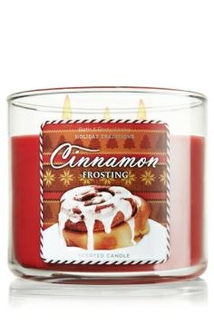 Top off holiday celebrations with the scrumptious scent of grated cinnamon and cloves, vanilla bean and whipped buttercream