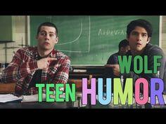 Teen Wolf seasons 1-5 Bloopers & Gag Reel - YouTube