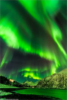 Tromsø (Norvège) - What is the Aurora Borealis? Tromso, All Nature, Science And Nature, Amazing Nature, Beautiful Sky, Beautiful Pictures, Northen Lights, Natural Phenomena, Belle Photo