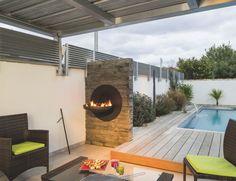 #sigmafocus #barbecue mural #cheminee extérieure #design contemporain