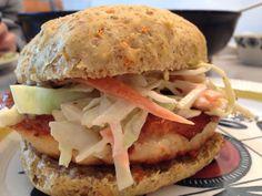 Fiskekakeburgeren er en del av burgerfestivalen her på nammis.no