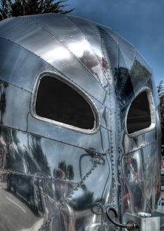 1936 Airstream Clipper, via Flickr.  I think this one is going to give me nightmares!