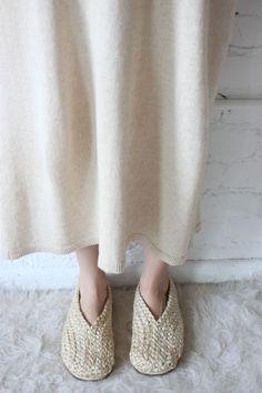 blueberrymodern:  Pia Bonanova braided shoe