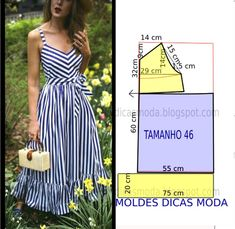 Long beach dress step by step, visit website to see more. Related Simple crafts to do to decorate every cornerInside Hailey Bieber's Wedding Dress Fitting VideoSewing Machine Maintenance 1 Fashion Sewing, Diy Fashion, Fashion Dresses, Fashion Details, Fashion Tips, Dress Sewing Patterns, Clothing Patterns, Pattern Dress, Sewing Clothes