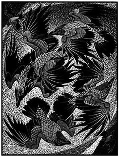 Colin See-Paynton. Murder of Crows http://www.birchamgallery.co.uk/catalogue/artist/Colin:See-Paynton/OSNIS022/?category=prints