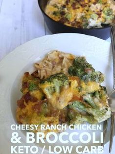 CHEESY RANCH CHICKEN & BROCCOLI {KETO & LOW CARB FRIENDLY}