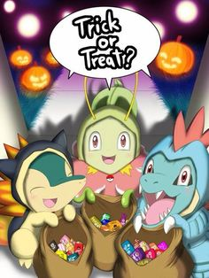 Pokemon trick or treat 2nd generation