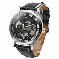 Tanboo Unisex PU Analog Mechanical Fashionable Watch (Black) by Tanboo. $19.99. Women's, Men's Watche. Fashionable Watches. Wrist Watches. Gender:Women's, Men'sMovement:MechanicalDisplay:AnalogStyle:Wrist WatchesType:Fashionable WatchesBand Material:PUBand Color:BlackCase Diameter Approx (cm):4.4Case Thickness Approx (cm):1.1Band Length Approx (cm):21.3Band Width Approx (cm):2