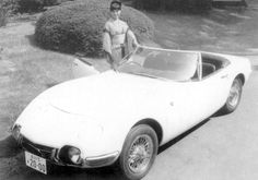 """1966 Toyota - from the James Bond film """"You Only Live Twice"""" - There were two roadster versions of the car build specially for the film. Convertible, James Bond Cars, Toyota 2000gt, Toyota Cars, Auto Toyota, Car Advertising, Unique Cars, Japanese Cars, Concept Cars"""