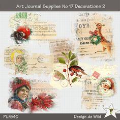 Art Journal Supplies No 17 Decorations 2