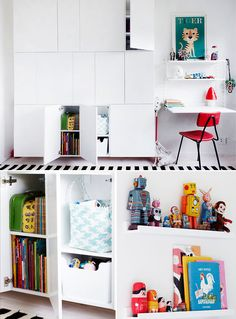 Build House Home: Playroom storage solution IKEA hack
