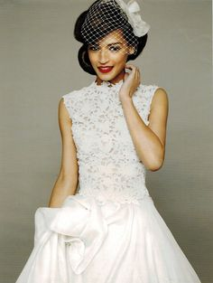 Charlie Brear, formerly The Vintage Wedding Dress Company, in Brides magazine