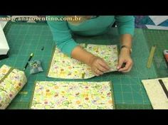 Patchwork Sem Segredos: Necessaire | Cantinho do Video