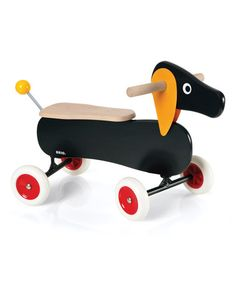 Love this Dachshund Ride-On on #zulily! #zulilyfinds