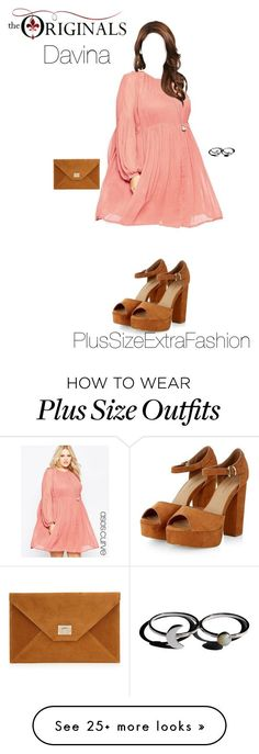 """""""Davina Inspired Plus Size Spring Holiday Outfit"""" by plussizeextrafashion on Polyvore featuring ASOS Curve"""