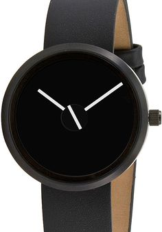 minimal watch (Sometimes Watch for Project Watches designed by Denis Guidone) Modern Watches, Elegant Watches, Luxury Watches, Cool Watches, Watches For Men, Black Watches, Stylish Watches, Wrist Watches, Marken Outlet