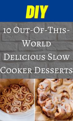 Crock Pot Desserts, Slow Cooker Desserts, Crockpot Dishes, Crock Pot Cooking, Slow Cooker Recipes, Crockpot Recipes, Cooking Recipes, Great Desserts, Delicious Desserts