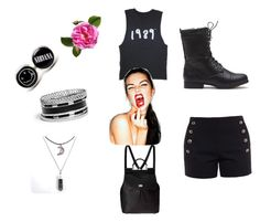 Untitled #23 by jomanahalabbad on Polyvore featuring polyvore, fashion, style, Chloé, Dolce&Gabbana and GUESS