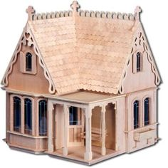 For even more choices in dollhouses, be sure to check out Greenleaf's Dollhouse of affordable all wood dollhouse kits! We can custom build your dream dollhouse. They are wonderful little houses for the new collector. Dollhouse Kits, Victorian Dollhouse, Wooden Dollhouse, Homemade Dollhouse, Cardboard Dollhouse, Haunted Dollhouse, Beacon Hill Dollhouse, Storybook Cottage, Vintage Travel Trailers
