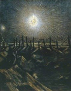 A Star Shell Christopher Nevinson