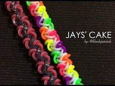 JAYS CAKE Hook Only bracelet tutorial - YouTube