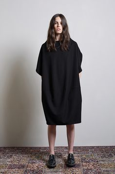 La Garconne Atelier No.II - Flutter Sleeve Dress by Limi Feu | Shark Sole Shoe by Y s