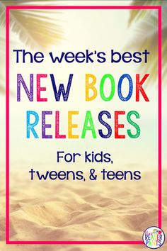 This weekly list of new book releases is perfect for library collection development, teachers, and anyone who just wants to read the newest young adult, middle grade, or picture books. School Librarian, I School, School Stuff, Ya Books, Library Books, Middle School Reading, Teen Romance, Theatre Quotes, Your Turn