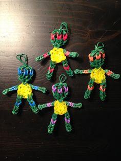 Rainbow Loom Teenage Mutant Ninja Turtles.
