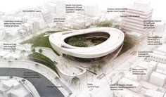 "Gallery of Matteo Cainer Architects Propose ""Open Gate"" for Suncheon Art Platform Competition - 4"