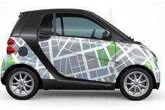 smart road map