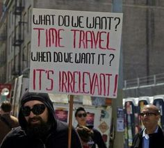 Time Travel Protest