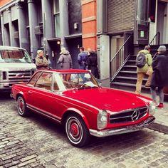 Vintage Mercedes sl